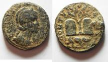 Ancient Coins - NEW TYPE? UNPUBLISHED?: Phoenicia. Tyre under Salonina (AD 268). AE 27mm, 13.96g.