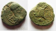 Ancient Coins - Phoenicia. Tyre under Elagabalus. (AD 218-222). AE 19mm, 6.72g.