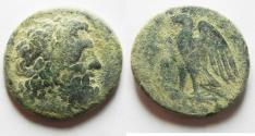 Ancient Coins - PTOLEMAIC KINGDOM. PTOLEMY II AE 28. AS FOUND