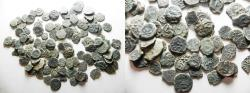 Ancient Coins - AS FOUND!!!!: HIGH QUALITY. JUDAEAN 103 ANCIENT WIDOW'S MITE COINS