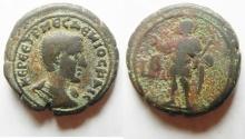 Ancient Coins - EGYPT, Alexandria. Herennius Etruscus. As Caesar, AD 249-251. BI Tetradrachm