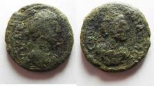 Ancient Coins - AS FOUND: Decapolis. Philadelphia under Antoninus Pius (AD 138-161). AE 22mm, 7.71g.