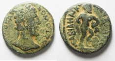 Ancient Coins - Decapolis. Abila Under Commodus AE 24. Herakles