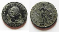 Ancient Coins - NICE AS FOUND CONSTANTINE 1 AE FOLLIS.