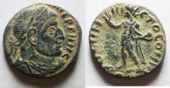 Ancient Coins - CONSTANTINE I AE FOLLIS. AS FOUND