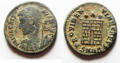 Ancient Coins - ORIGINAL DESERT PATINA. CRISPUS AE 3