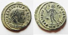 Ancient Coins - BEAUTIFUL LICINIUS I AE FOLLIS. AS FOUND