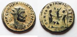 Ancient Coins - ORIGINAL DESERT PATINA: MAIXIMIANUS AE ANTONINIANUS