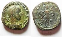 Ancient Coins - GORDIAN III AE SESTERTIUS.