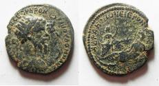 Ancient Coins - Arabia. Adraa under Septimius Severus (193-211). AE 28mm, 12.79g.