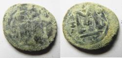 Ancient Coins - ARAB-BYZANTINE. TIBERIAS MINT. ضرب طبرية