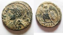 Ancient Coins - A FOUND: CONSTANTINE I AE 3 . COMMEMORATIVE ISSUE