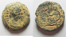 Ancient Coins - Egypt. Alexandria. FAUSTINA II AE DIOBOL