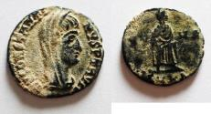 Ancient Coins - CONSTANTINE I POSTHUMOUS ISSUE. AE 4