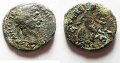 Ancient Coins - JUDAEA. GALILEE. TIBERIAS UNDER TRAJAN. AE 23