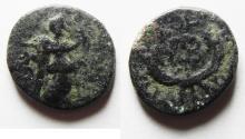 Ancient Coins - ROMAN PROVINCIAL. Phoenicia. Ake-Ptolemais.  Pseudo-autonomous issue under Nero (AD 54-68). AE 16