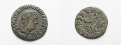 Ancient Coins - Indo - greek , Bactrian , Apollodotus II 110-80 BC AR Drachm of Taxila