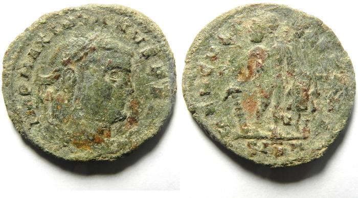 Ancient Coins - MAXIMIAN AE FOLLIS AE FOUND , RARE
