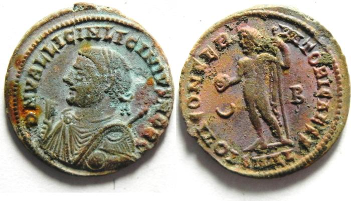 Ancient Coins - LICINIUS II  AE FOLLIS , ALEXANDRIA , NICE QUALITY
