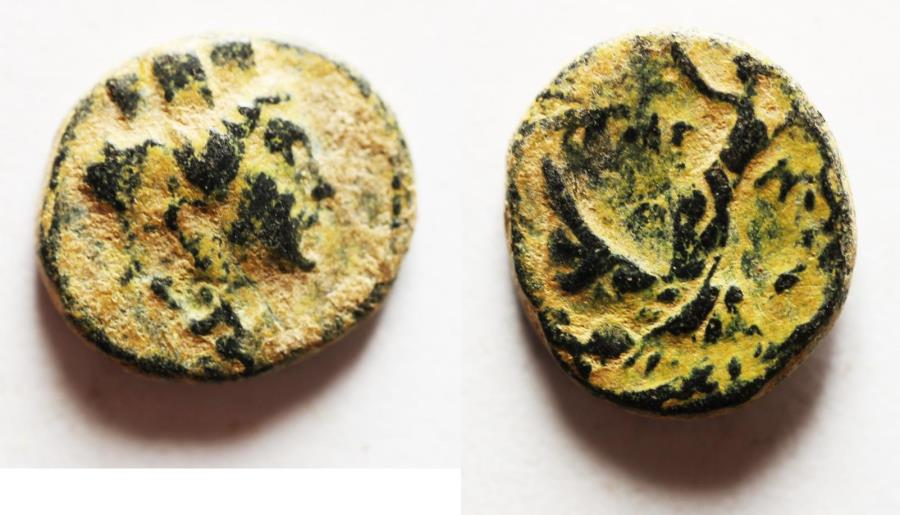 Ancient Coins - PHOENICIA. TYRE. 1ST CENT. A.D AE 10