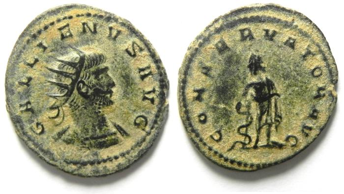 Ancient Coins - GALLIENUS ANTONINIANUS , AS FOUND