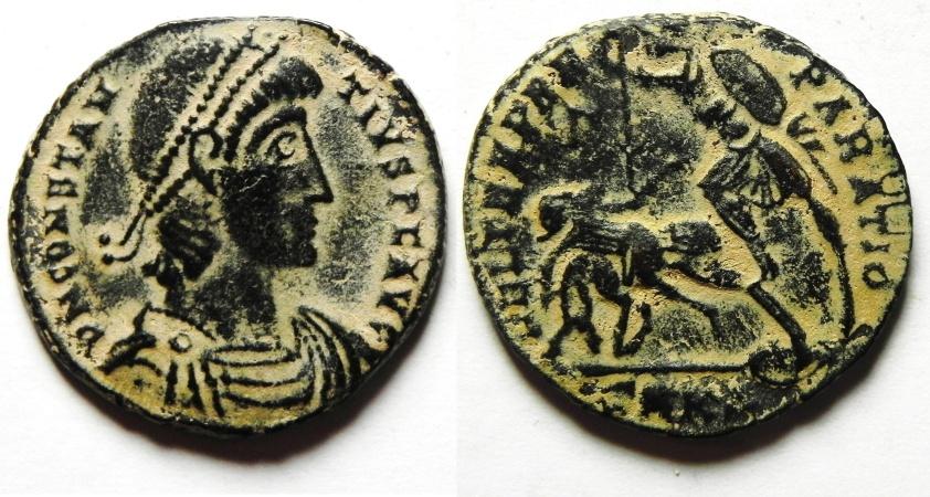 Ancient Coins - Constantius II Centenionalis - FEL TEMP REPARATIO