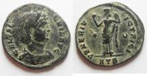 Ancient Coins - AS FOUND. GALERIA VALERIA AE FOLLIS