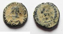 Ancient Coins - Valentinian II AE4, 375-392 AD