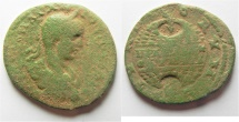 Ancient Coins - Phoenicia. Tyre under Elagabalus (AD 218-222) AE 29mm, 8.96g.