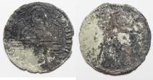 World Coins - ITALY. VENICE. SILVER GRUSSO. AS FOUND
