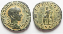 Ancient Coins - GORDIAN III AE SESTERTIUS. NICE