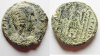 Ancient Coins - AS FOUND: Decapolis. Gadara under Julia Domna (AD 193-217). AE 20mm, 5.96g. Struck in civic year 278 (AD 214/5).