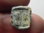 Ancient Coins - ROMAN LEAD SEAL IMPRESSION. MALE BUSTS . 100 - 200 A.D
