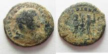 Ancient Coins - CONSTANTIUS I AE FOLLIS. ALEXANDRIA. AS FOUND