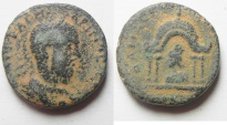 Ancient Coins - Unpublished? : Coele Syria. Damascus under Macrinus (AD 217-218). AE 21mm, 8.39g.