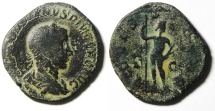 Ancient Coins - GORDIAN III AE SESTERTIUS , AFFORDABLE