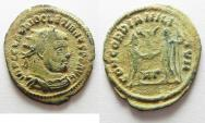 Ancient Coins - BEAUTIFUL AS FOUND DIOCLETIANUS AE ANTONINIANUS