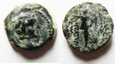 Ancient Coins - Seleukid Kings, Antiochos IX (114/3-95 BC). Æ 19 - Eros / Nike