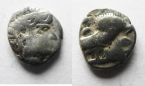 Ancient Coins - ARABIA, Southern. Saba'. Late 4th–mid 2nd centuries BC. AR tmrt – Quarter Unit