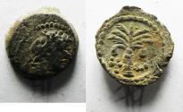 Ancient Coins - CHOICE: GREEK. Phoenicia. Tyre. AE 13mm, 1.71g. Struck c. late second century BC.