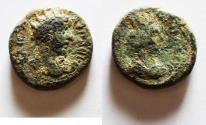 Ancient Coins - Decapolis. Philadelphia under Marcus Aurelius (AD 161-180). AE 18mm, 6.77g.
