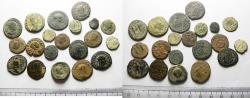 Ancient Coins - ROMAN IMPERIAL. LOT OF 20 BRONZE COINS. AS FOUND