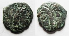 Ancient Coins - Judaea, Procurators. Marcus Ambibulus Prefect under Augustus AE Prutah Jerusalem Mint