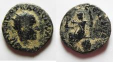 Ancient Coins - JUDAEA. CAESAREA. TRAJAN DECIUS AE 26