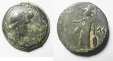 Ancient Coins - Egypt. Alexandria under Augustus. AE diobol (24mm, 10.56g). Struck in regnal year 41 (AD 11/12). Head of Livia