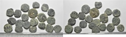 Ancient Coins - LOT OF 20 HASMONEAN / JUDAEAN AE PRUTOT