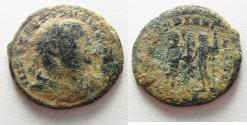 Ancient Coins - CONSTANTIUS I AE FOLLIS. ALEXANDRIA. AS FOUND