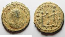 Ancient Coins - AS FOUND AURELIAN AE ANTONINIANUS