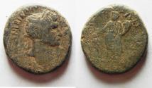 Ancient Coins - Judaea, Caesarea Maritima. Trajan, 98-117 AD. AE 26