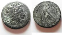 Ancient Coins - Ptolemaic Kingdom. Ptoilemy III AE 34. Tyre Mint